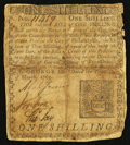 Colonial Notes:Pennsylvania, Pennsylvania March 10, 1769 1s Very Good.. ...