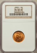 Indian Cents, 1900 1C MS66 Red NGC....