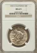 Commemorative Silver, 1925-S 50C California MS67+ NGC....
