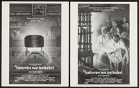 "Batteries Not Included (Universal, 1987). Advertising Concept Art Sheets (2) (11"" X 14""). Fantasy. ... (Total:..."