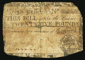 Colonial Notes:South Carolina, South Carolina March 6, 1776 £25 About Good.. ...
