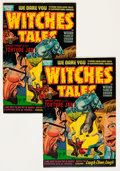 Golden Age (1938-1955):Horror, Witches Tales #13 Group (Harvey, 1952) Condition: Average FN/VF....(Total: 2 Comic Books)