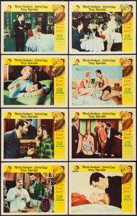 """Lover Come Back (Universal, 1962). Lobby Card Set of 8 (11"""" X 14""""). Comedy. ... (Total: 8 Items)"""