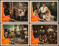 """Movie Posters:Romance, The Flame of New Orleans (Universal, 1941). Lobby Cards (4) (11"""" X 14""""). Romance.. ... (Total: 4 Items)"""