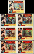 "Movie Posters:Adventure, Prisoners of the Casbah (Columbia, 1953). Lobby Cards (7) (11"" X14""). Adventure.. ... (Total: 7 Items)"