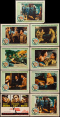 """Movie Posters:War, The Young Lions (20th Century Fox, 1958). Lobby Card Set of 8 &Lobby Card (11"""" X 14""""). War.. ... (Total: 9 Items)"""
