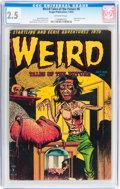 Golden Age (1938-1955):Horror, Weird Tales of the Future #8 (Aragon, 1953) CGC GD+ 2.5 Off-whitepages....