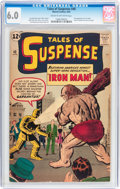 Silver Age (1956-1969):Superhero, Tales of Suspense #40 (Marvel, 1963) CGC FN 6.0 Cream to off-whitepages....