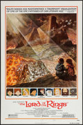 "Movie Posters:Animation, The Lord of the Rings (United Artists, 1978). One Sheet (27"" X 41"") Style B. Animation.. ..."