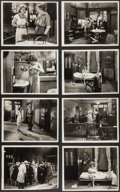 """Movie Posters:Comedy, Three Week Ends (Paramount, 1928). Keybook Photos (8) (8"""" X 10""""). Comedy.. ... (Total: 8 Items)"""