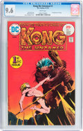 Bronze Age (1970-1979):Miscellaneous, Kong the Untamed #1 (DC, 1975) CGC NM+ 9.6 White pages....
