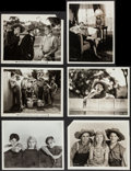"Movie Posters:Adventure, Tom Sawyer (Paramount, 1930). Keybook Photo (1) (7.75"" X 8""), andPhotos (5) and Photos Reprinted from Dupe Negatives (3) (8...(Total: 9 Items)"