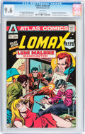 Bronze Age (1970-1979):Adventure, Police Action #1 (Atlas-Seaboard, 1975) CGC NM+ 9.6 White pages....