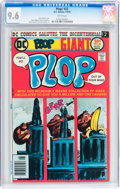 Bronze Age (1970-1979):Humor, Plop! #22 (DC, 1976) CGC NM+ 9.6 White pages....