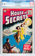 Silver Age (1956-1969):Horror, House of Secrets #17 (DC, 1959) CGC VF- 7.5 Off-white to white pages....