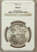 Morgan Dollars: , 1900 $1 MS64 NGC. NGC Census: (13649/4913). PCGS Population(13200/4111). Mintage: 8,830,912. Numismedia Wsl. Price for pro...