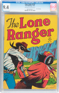 Golden Age (1938-1955):Western, Four Color #125 The Lone Ranger (Dell, 1946) CGC NM 9.4 Off-whiteto white pages....
