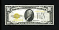 Small Size:Gold Certificates, Fr. 2400 $10 1928 Gold Certificate. Very Fine-Extremely Fine.. A problem free $10 Gold Certificate....