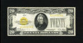 Small Size:Gold Certificates, Fr. 2402 $20 1928 Gold Certificate. Very Fine.. A problem free example of this always popular type....