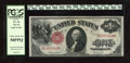Fr. 36 $1 1917 Legal Tender PCGS Choice About New 58PPQ. A little bit of black ink is found in one of the back margins o...