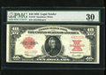 Large Size:Legal Tender Notes, Fr. 123 $10 1923 Legal Tender PMG Very Fine 30. The census listsjust under 300 known of this popular one year type. This is...