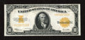 Large Size:Gold Certificates, Fr. 1173 $10 1922 Gold Certificate Very Fine. The orange ink and paper are delightful on this mid-grade $10 Gold with origin...