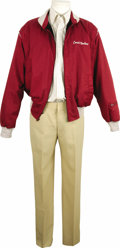 "Movie/TV Memorabilia:Costumes, ""Evening Shade"" Burt Reynolds' Screen-Worn Costume. Burt Reynolds' Coach Wood Newton costume ensemble consisting of tan cott... (Total: 1 Item)"