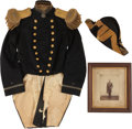 Militaria:Uniforms, Vintage United States Naval Grouping,... (Total: 3 Items)