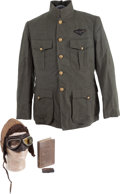 Military & Patriotic:WWI, WWI United States Naval Aviator Group,... (Total: 5 Items)