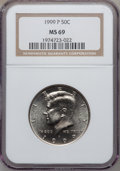 Kennedy Half Dollars, 1999-P 50C MS69 NGC....