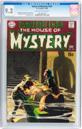 Silver Age (1956-1969):Horror, House of Mystery #181 (DC, 1969) CGC NM- 9.2 Off-white to whitepages....