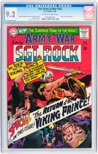 Our Army at War #162 (DC, 1966) CGC NM- 9.2 Off-white to white pages