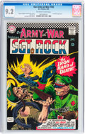 Silver Age (1956-1969):Superhero, Our Army at War #165 (DC, 1966) CGC NM- 9.2 Off-white to white pages....