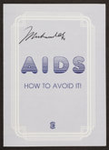 Boxing Collectibles:Autographs, Muhammad Ali Signed Pamphlet....