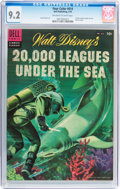 Golden Age (1938-1955):Miscellaneous, Four Color #614 20,000 Leagues Under the Sea (Dell, 1955) CGC NM- 9.2 Off-white to white pages....