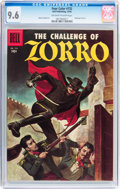 Silver Age (1956-1969):Miscellaneous, Four Color #732 The Challenge of Zorro (Dell, 1956) CGC NM+ 9.6 Off-white to white pages....