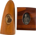 Military & Patriotic:WWI, Pair of WWI German Propeller Picture Frames.... (Total: 2 Items)
