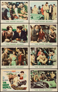 """The Green Helmet (MGM, 1961). Lobby Card Set of 8 (11"""" X 14""""). Sports. ... (Total: 8 Items)"""