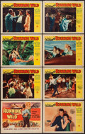 """Movie Posters:Bad Girl, Running Wild (Universal International, 1955). Lobby Card Set of 8(11"""" X 14""""). Bad Girl.. ... (Total: 8 Items)"""