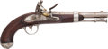 Handguns:Muzzle loading, U.S. Model 1836 Flintlock Pistol by R. Johnson....