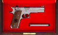 Handguns:Semiautomatic Pistol, Cased and Engraved Smith & Wesson Model 645 1 of 25 Semi-Automatic Pistol.... (Total: 2 Items)