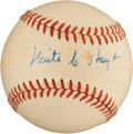Autographs:Baseballs, Circa 1980 Waite C. Hoyt Single Signed Baseball....