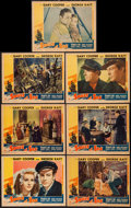 "Movie Posters:Adventure, Souls at Sea (Paramount, 1937). Lobby Cards (7) (11"" X 14"").Adventure.. ... (Total: 7 Items)"