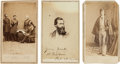 Photography:CDVs, Group of Three Scarce Civil War Cartes de Visite,... (Total: 3 Items)