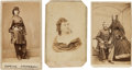 Photography:CDVs, Group of Three Rare Civil War Cartes de Visite.... (Total: 3 Items)
