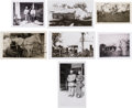 Photography, James Family Photos: Seven Vintage Black & White Snapshots. ...(Total: 7 )