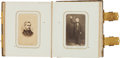 Photography:CDVs, Carte de Visite Album: Beautiful Civil War Period,...