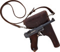 Handguns:Semiautomatic Pistol, Swiss Reworked Model P08 1920 Luger Semi-Automatic Pistol withInscribed Holster....