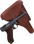 Handguns:Semiautomatic Pistol, Inscribed German DWM Model P08 Luger Semi-Automatic Pistol with Holster....