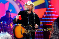 Toby Keith Signed Guitar Benefiting Helping a Hero